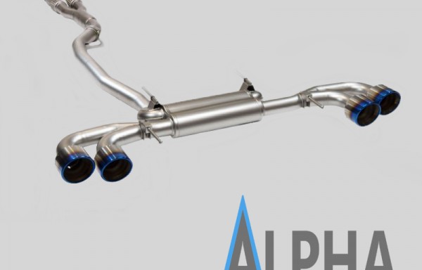 NISSAN GTR 3.5″ TURBO BACK EXHAUST WITH 5 INCH TITANIUM TAILS
